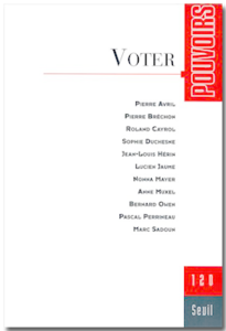 Pouvoirs n°120 - Voter