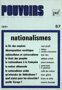 Pouvoirs n°57 - Nationalismes