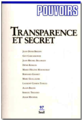 97 - Transparence et secret